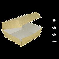 Упаковка для бургера Крафт 140*140*70мм 50шт/уп