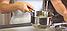 Ковш с крышкой Vinzer Techno Series 89077 (1.1 л) нержавеющая сталь | сотейник | ковшик, молочник Винзер, фото 3
