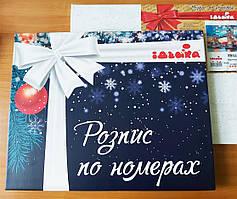 Подарочная коробка-кейс с ручкой для картин по номерам (КНО 001)