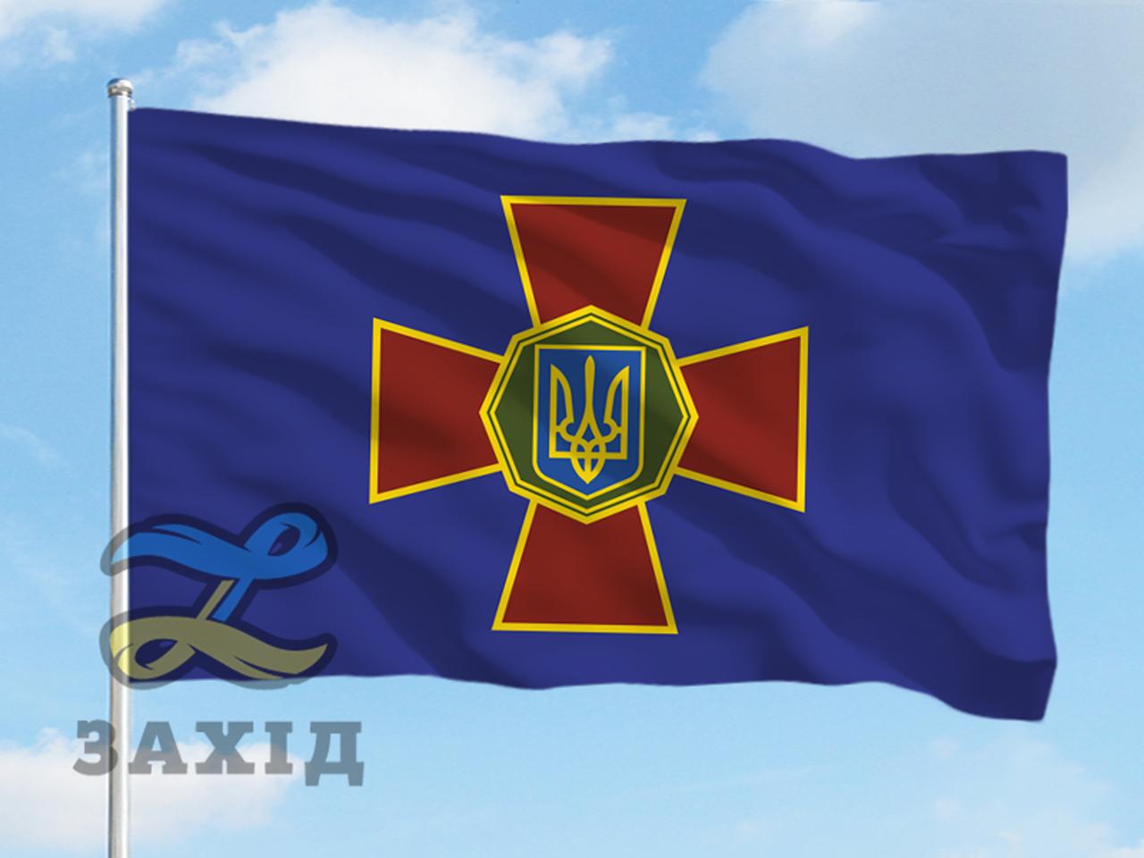 Флаг национальной гвардии Украины (НГУ)