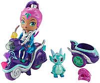 Игровой набор Шиммер и Шайн кукла Зета на скутере - Shimmer and Shine Zeta FHN31, фото 3
