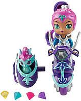 Игровой набор Шиммер и Шайн кукла Зета на скутере - Shimmer and Shine Zeta FHN31, фото 4
