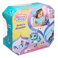 Игровой набор Шиммер и Шайн кукла Зета на скутере - Shimmer and Shine Zeta FHN31, фото 9