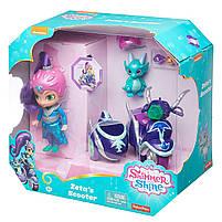 Игровой набор Шиммер и Шайн кукла Зета на скутере - Shimmer and Shine Zeta FHN31, фото 8