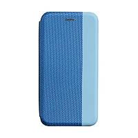 Чехол - книжка для телефона Strip Samsung A31 синий, кожзам, чехлы на телефон для Samsung A31, фото 1