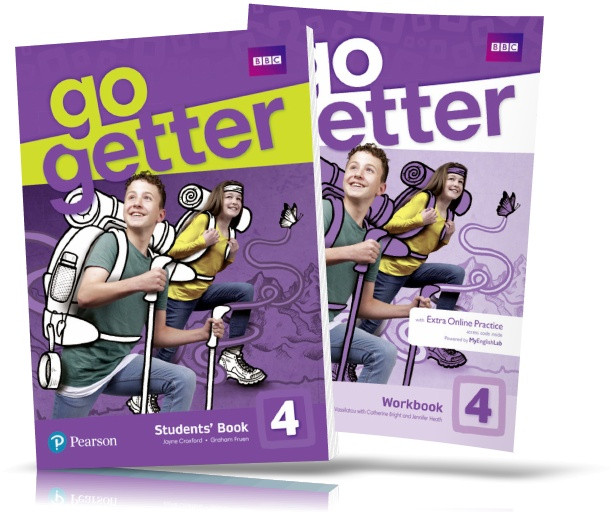 Go Getter 4, Student's Book + Workbook / Учебник + Тетрадь английского языка