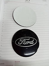 3D наклейки на диски и колпаки FORD металл  56 мм