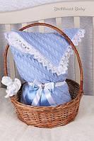 Конверт-одеяло для новорожденных на выписку Фантазия (зима)