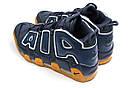 Кроссовки мужские 13919, Nike More Uptempo, синие, [ 43 44 ] р. 43-27,3см., фото 8