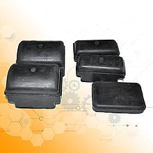 Комплект подушек задней рессоры ГАЗ-53 (5-шт)