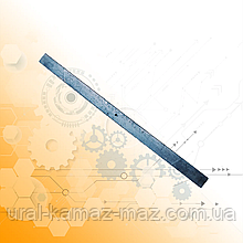 Лист дополнительной рессоры ГАЗ-53/3307 задней подвески 9 мм
