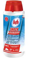 Химия для бассейнов шок хлор hth SHOCK powder - 2 кг (гранулы гипохлорит кальция, 75-78%)