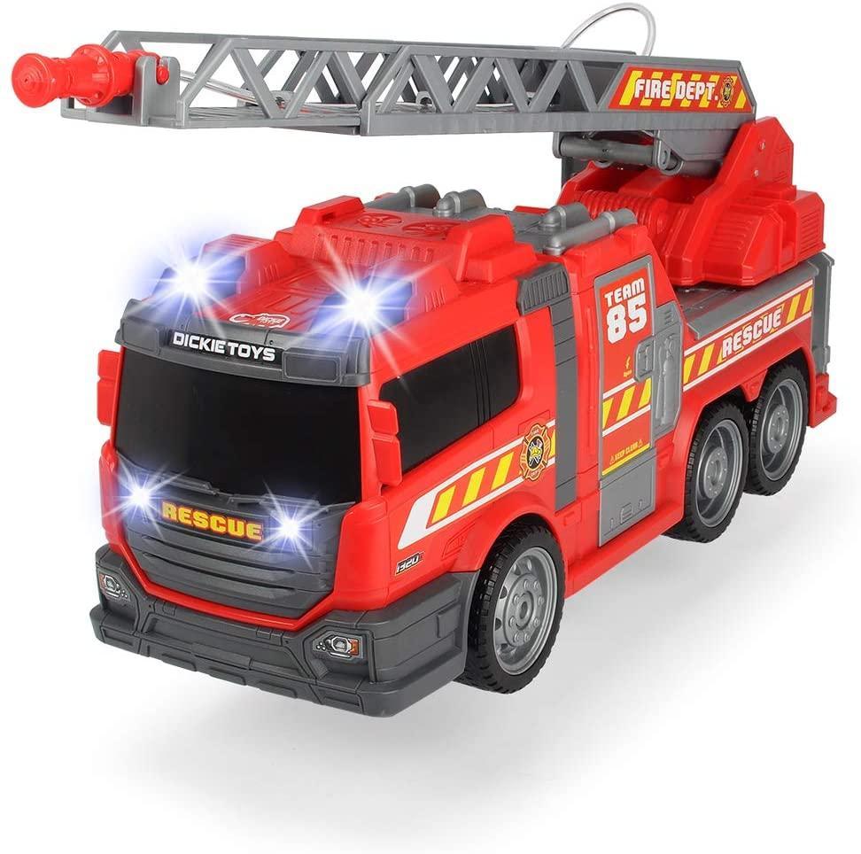 Пожарная машина со звуковыми, световыми и водными эффектами,36 см, Dickie Toys 3308371