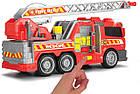 Пожарная машина со звуковыми, световыми и водными эффектами,36 см, Dickie Toys 3308371, фото 5