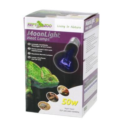 Ночная лампа с подогревом REPTI-ZOO Moonlight Heat 50W (RZ-D63050)