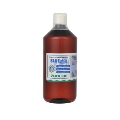 Препарат против водорослей, бактерий ZOOLEK Blue ichtio  (ZL0025)