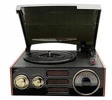 Виниловый проигрыватель Retro GPO Empire / RCA / USB / AM / FM
