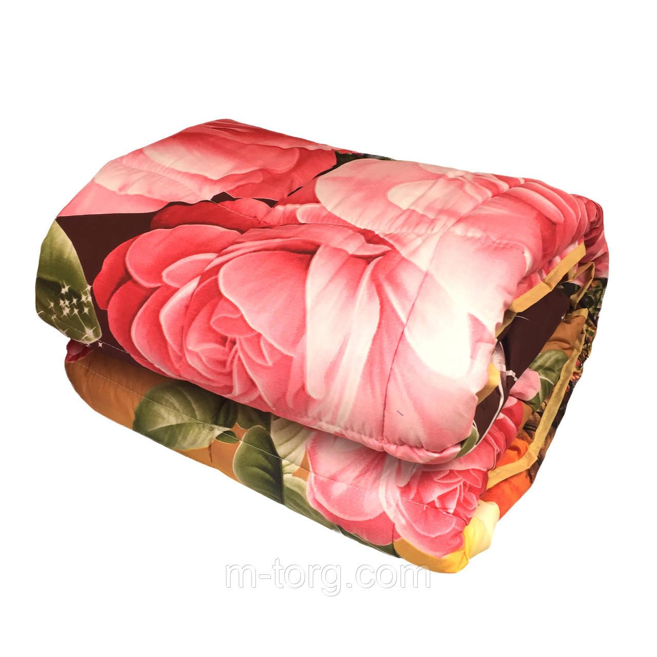 Одеяло ватное полуторное 150*210 см, ткань бязь