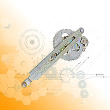 Стеклоподъемник ГАЗ-3307 левый 4301-6104013