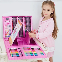 Набор для детского творчества в чемодане из 208 предметов | Набір для дитячої творчості у валізі з 208 предмет
