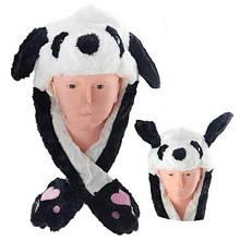 Шапка дитяча хутряна світиться Панда