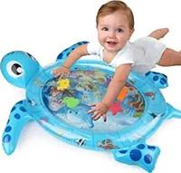 Детский развивающий коврик водный Черепаха