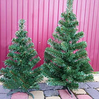 Новогодняя искусственная елка «Карпатская» ПВХ с подставкой ель сосна рождественская на новый год зеленая