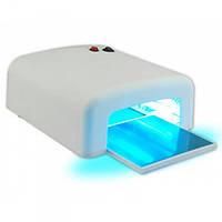 Ультрафиолетовая гель-лампа W-820, Лампа для сушки гель-лака на 36 Вт БЕЛАЯ   Ультрафіолетова гель-лампа
