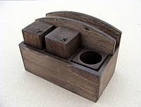 Набор для специй с салфетницей №11, ЦВЕТ - разные | Era Creative Wood
