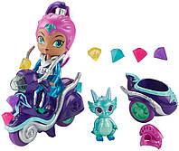 Игровой набор Шиммер и Шайн кукла Зета на скутере - Shimmer and Shine Zeta FHN31