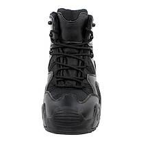 Мужские ботинки Lesko 998 Black 42 тактические демисезонные, фото 3