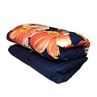 Одеяло ватное двуспальное 180*210 см, ткань бязь