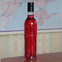 Бутылка стеклянная 0,5 л с крышкой гуала Максимум 20 шт