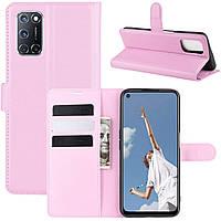 Чехол-книжка Litchie Wallet для Oppo A92 / A72 / A52 Pink