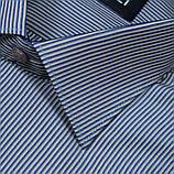 Сорочка чоловіча, прямого крою з довгим рукавом Birindelli 03-130 80% бавовна 20% поліестер L(Р), фото 2