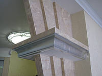 Нанесение декоративной штукатурким- венецианская штукатурка, фото 1