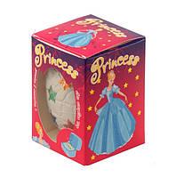 Шоколадное яйцо Bimbaka Princess для девочек 50 г Украина
