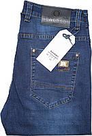 Мужские джинсы Bagrbo,W34 L34 Стрейч.Темно-синие.