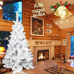 Елка белая искусственная на новый год Сказка