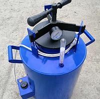 Автоклав электрический бытовой винтовой для домашнего консервирования ЧЕЕ-24 синий 21 банка Автоклавы бытовые
