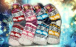 Очень теплые женские носки