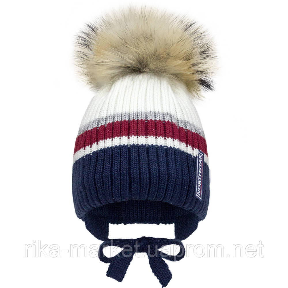 Зимняя шапка для  мальчика, Девидстар,  арт.21415 от 2 до 6 лет