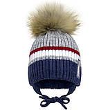 Зимняя шапка для  мальчика, Девидстар,  арт.21415 от 2 до 6 лет, фото 2