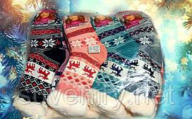 Женские теплые носки из натуральной шерсти
