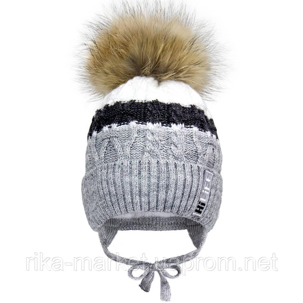 Зимняя шапка для  мальчика, Девидстар,  арт.21416 от 1 до 1,5 лет