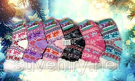 Детские очень теплые носки из натуральной шерсти