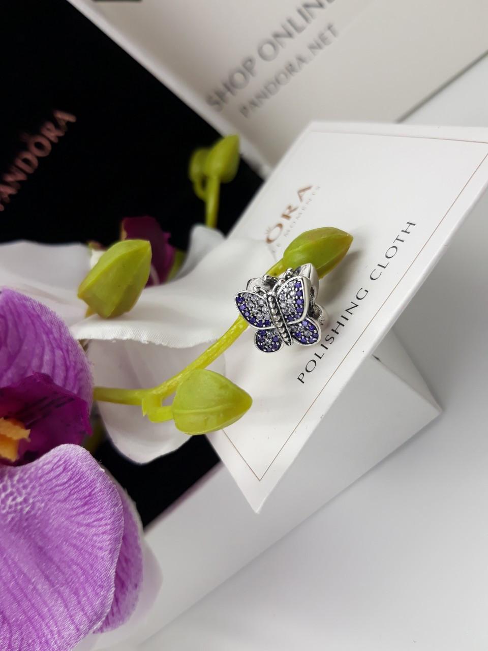 Шарм «Сверкающая бабочка»