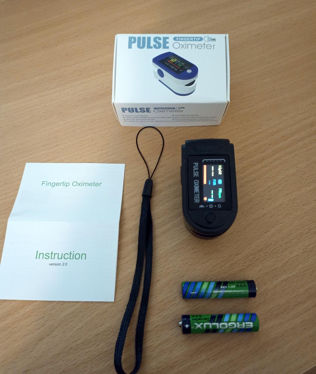 Пульсоксиметр Pulse Oximeter RL42 пульсометр оксиметром