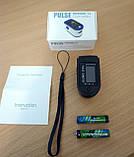 Пульсоксиметр Pulse Oximeter RL42 пульсометр оксиметром, фото 2