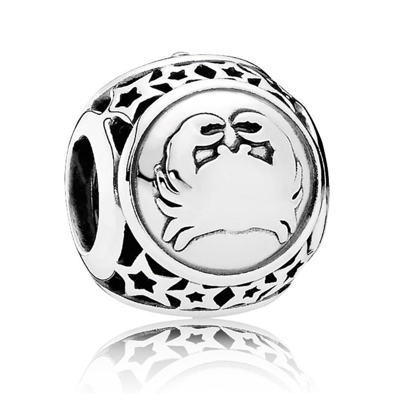Шарм «Рак» знак зодиака из серебра 925 пробы